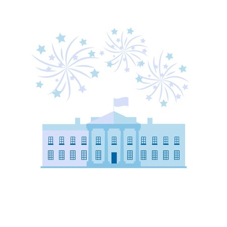 independance: White house united states president residence and  Independance day firworks