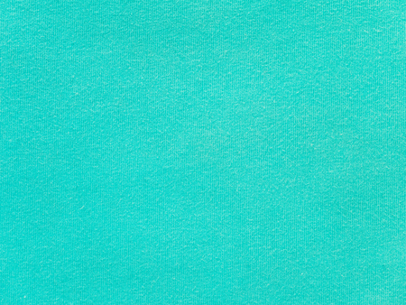 Bright turquoise cotton knitwear fabric texture swatch