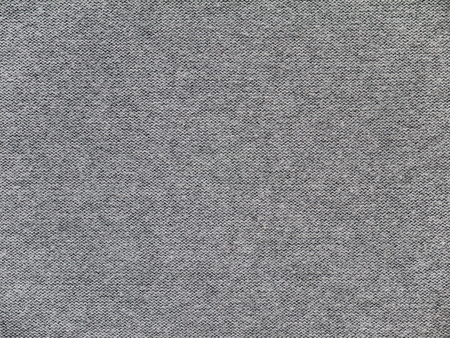 Heather gray cotton and viscose mix sweater knitted fabric underside texture  Stock Photo