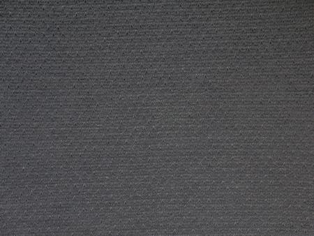 Dark gray cotton polyester knitwear fabric texture swatch