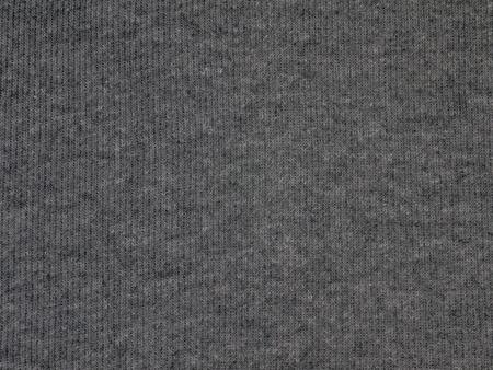 Dark gray cotton knitwear fabric texture swatch