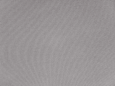 Light gray polyester activewear fabric texture swatch