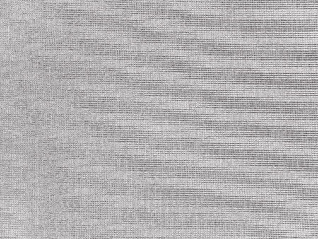 Medium gray polyester activewear fabric texture swatch. Synthetic material.