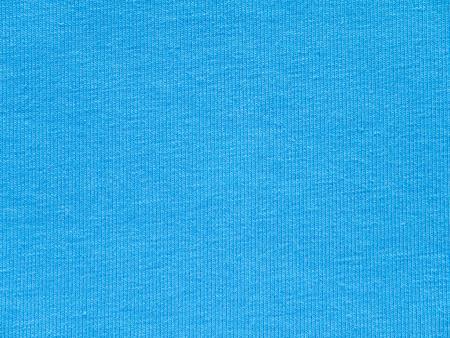 Light blue t-shirt cotton knitted fabric texture swatch