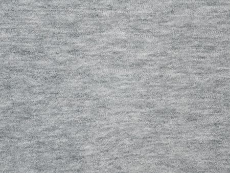 Heather gray underwear cotton knitted fabric texture swatch Stock Photo