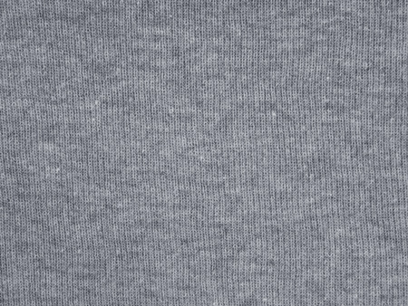 Medium gray underwear cotton knitted fabric texture swatch Reklamní fotografie - 117093062