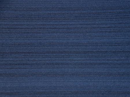 Dark navy blue striped polyester activewear fabric texture swatch Reklamní fotografie - 117093069