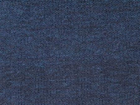 Dark blue cotton cold weather sweater dress fabric swatch Reklamní fotografie - 117093172