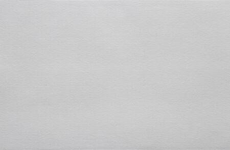 White textured horizontal striped paper sheet for handiwork and scrapbooking Banco de Imagens