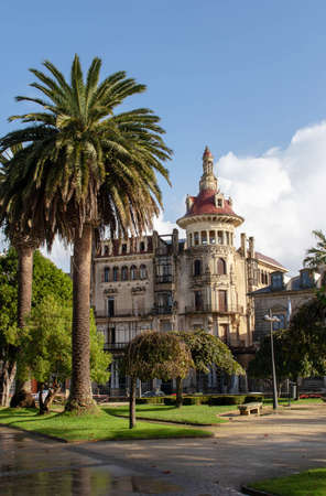 RIBADEO, SPAIN - October 4, 2020: