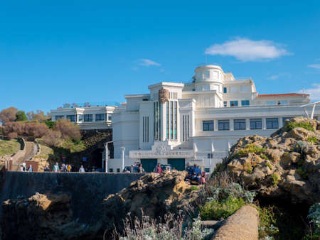 BIARRITZ, FRANCE - October 10, 2020: 