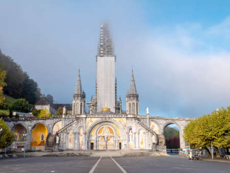 LOURDES, FRANCE - October 12, 2020: 