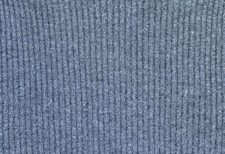 Light heather gray ribbed viscosa and nylon sweater knitted fabric texture swatch