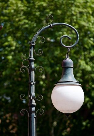 lamp post: Retro lampione