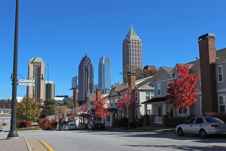atlanta: City Line Panorama