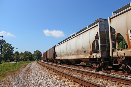 Cargo Train Stock Photo - 13512915
