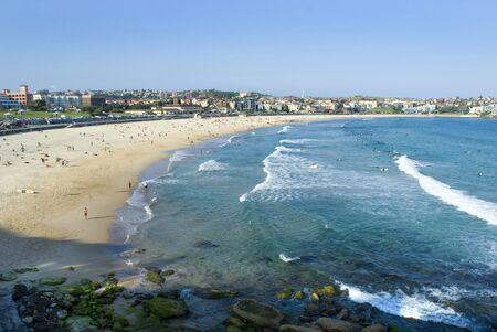 Sun and sand, bondi beach in Sydney, Australia