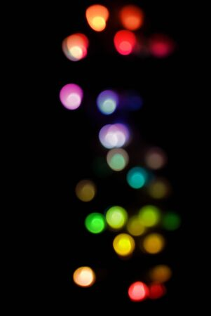 a festive background of colorful defuse lights Stock Photo - 8510908