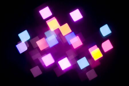 defuse: unusual abstract background of glowing coloured lights