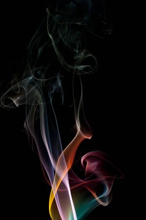 wafting: an attractive abstract background created with smoke