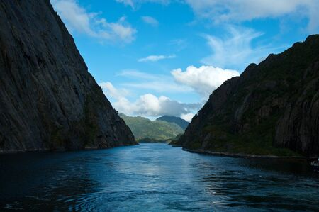 The trollfjord is one of the nicest fjords in norway