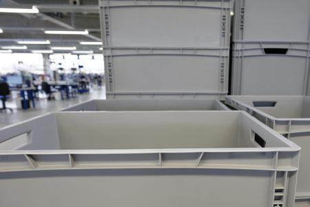 テイラーの生産ホールのプラスチック ボックス製品