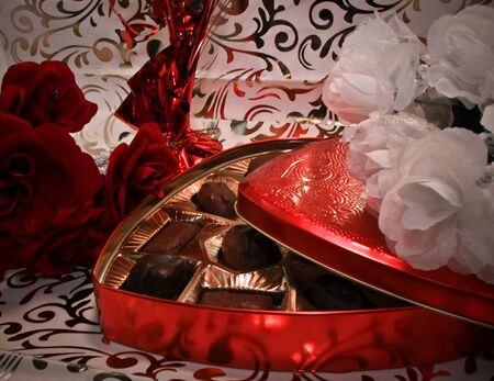 candy valentine Stock Photo