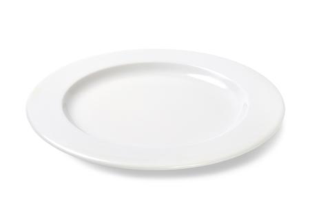 deportment: empty plate