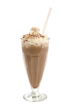 Chocolate milkshake photo