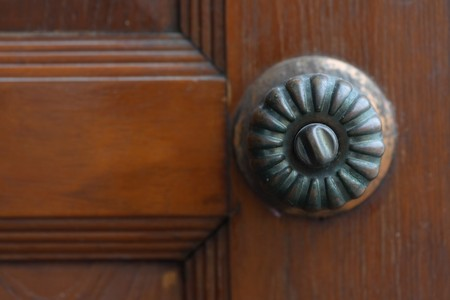 Old door knobs photo