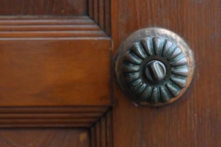 Old door knobs photo