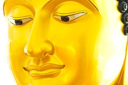 venerable: Buddha face Stock Photo