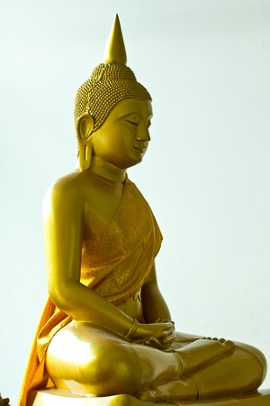 Sitting Buddha, Bangkok photo