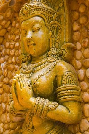 Las esculturas de bajo relieve  Foto de archivo - 6992620