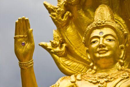 Brahma eye hand, Thailand. Stock Photo - 7034073