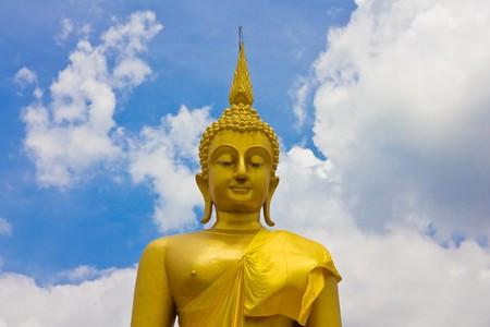 Luang Por Yai Buddha, Bangkok, Thailand. photo