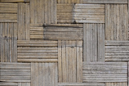 Bamboo basketry. photo