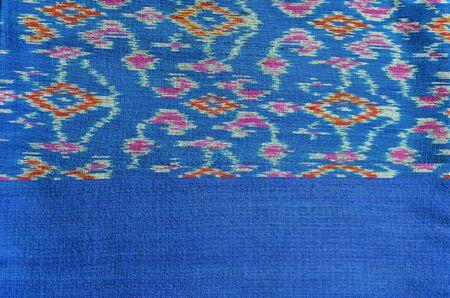 Fabric of Thailand,Thai silk Stock Photo