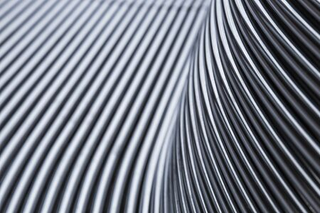 Abstract steel chrome pipe background