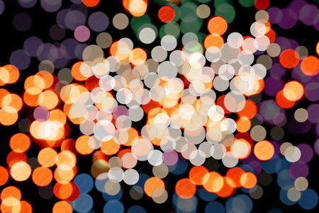 party background: bokeh