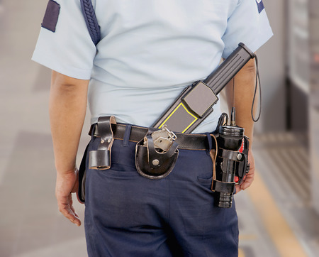 Security guard Stockfoto