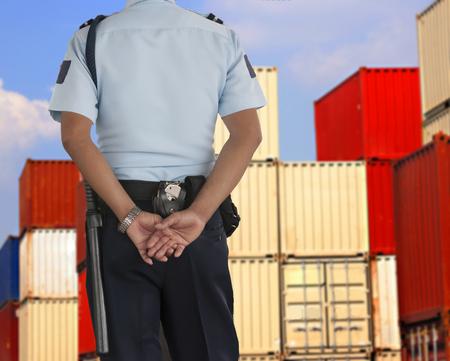security man: Security guard Stock Photo