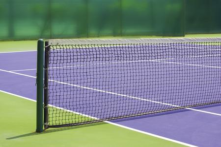 marking up: tennis court