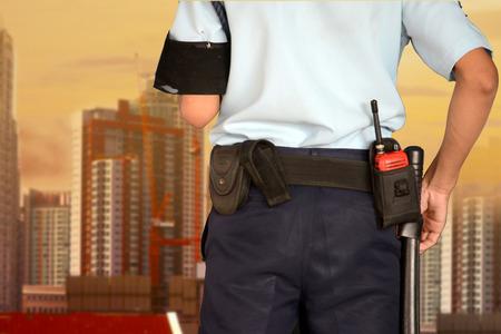 Security guard 免版税图像