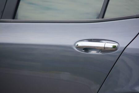car door handle 免版税图像