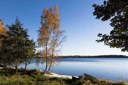 lakeside: Autumnal lakeside
