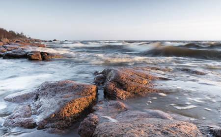 windy: Windy seaside