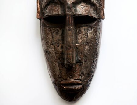 A mask made by an African Aboriginal.