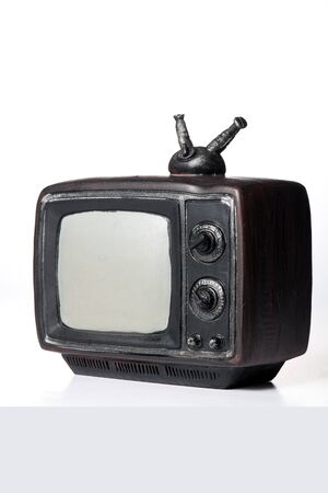 A miniature television
