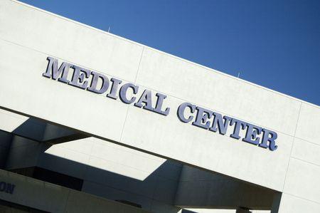 Medical center. Reklamní fotografie